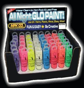 Glow in dark paints