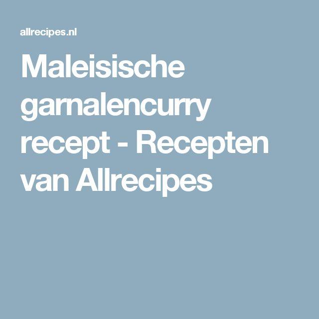 Maleisische garnalencurry recept - Recepten van Allrecipes