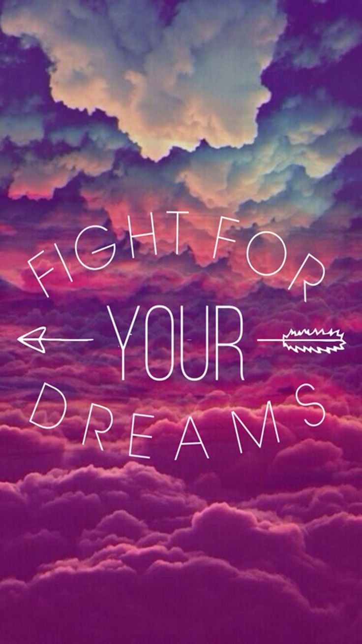Fight for your dreams, not for everyone else´s