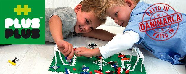 Plus-Plus è un sistema di costruzioni divertente e creativo, che permette al bambino di sviluppare le proprie capacità attraverso la combinazione di forme e colori.