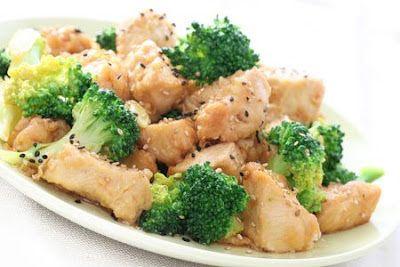 Pollo con brocoli, un plato rico, practico, fácil de elaborar y ligth | Recetas faciles