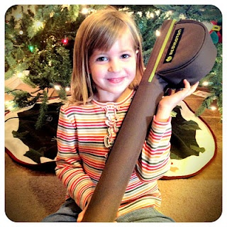 Nellie can't wait to fish her Redington fly rod this Summer!
