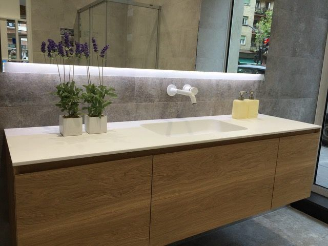 Inbani collections in Jorge Fernández Grupo showroom. We love to see our products at the point of sale!