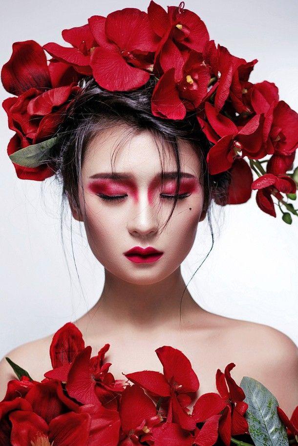La Dama de las orquídeas...