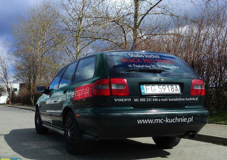 oklejanie samochodów / wrapping car - projekt i wykonanie www.BlueBrand.pl #BlueBrand #AgencjaReklamowa #reklama