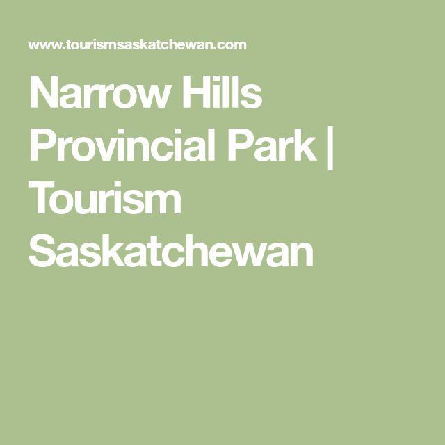 Narrow Hills Provincial Park   Tourism Saskatchewan