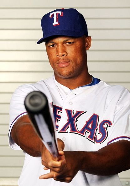 Adrian Beltre - such a great 3rd baseman; he seems like a player who really wants to play. He's not just playing for a paycheck and I like that:)
