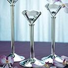 Diamond Shaped Tea-light Candle Holders - 3-wedding tea light holders  diamond shaped candle holders  diamond tealight holder  diamond candle holders http://www.koyalwholesale.com/pages-productinfo-product-24725/diamond_shaped_tealight_holders.html?gclid=CI21sKj4qbUCFQWCnQod1DwARg