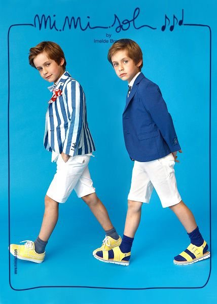 Elegance is not an opinion! Do you agree with us? #MiMiSol #imeldebronzieri #kids #elegance #fashion #SS14 #sprinsummer2014 #blue