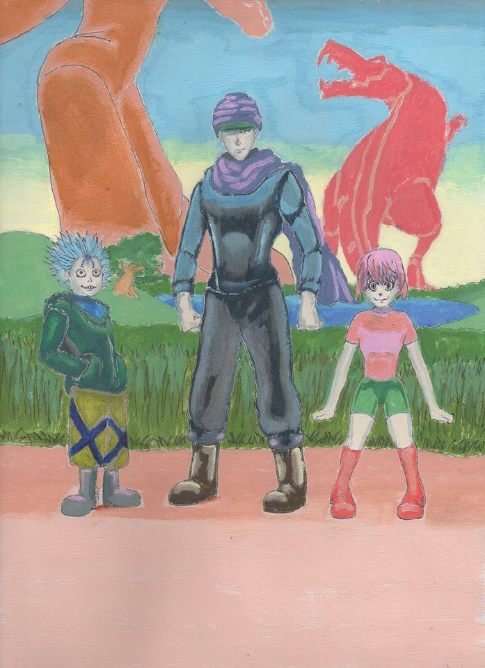 Zzigg #Zoldyck, #Ging #Freecs and #Linnet #Audoble #hunterxhunter