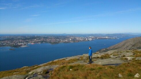View over Stavanger, Norway, my hometown