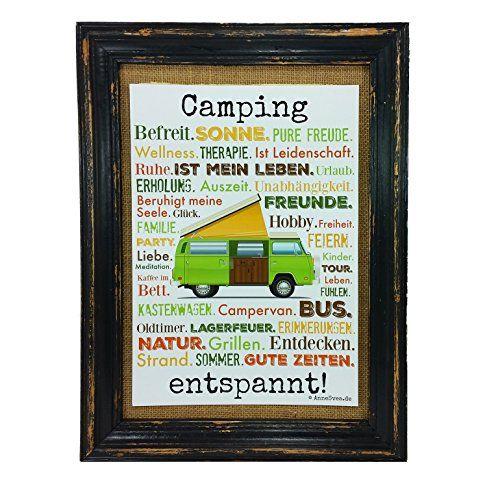 Camping entspannt. Druck Poster A4 Bus Camper Caravan Geschenk AnneSvea Typo Deko Womo AnneSvea http://www.amazon.de/dp/B01CMV0R20/ref=cm_sw_r_pi_dp_Xkj3wb07F561X