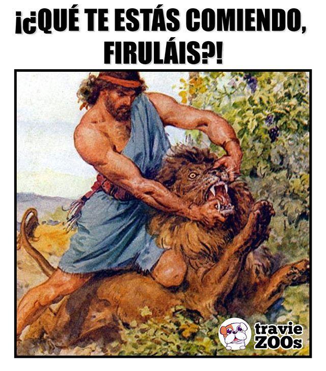 Abre El Hocico Leon Lion Prehistoria Leyendas Perro Hocico Firulais Memes Memes Divertidos Memes De Tios