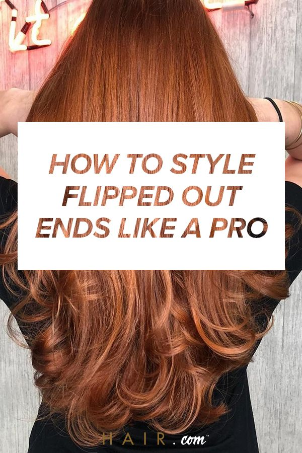 How To Get Hair To Flip Out At The Ends