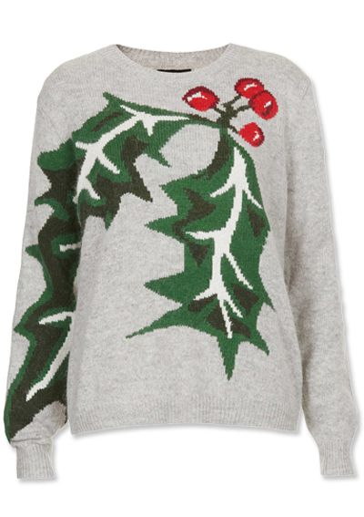 Shop 11 Non-Ugly Holiday Sweaters - Topshop from #InStyle