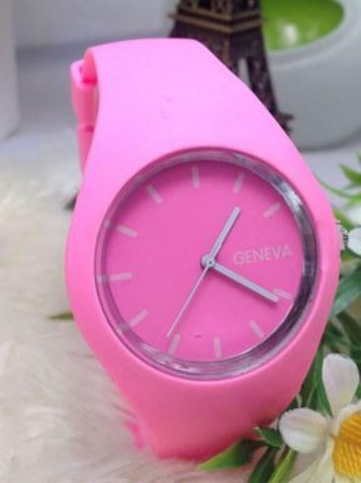 Geneva Fashion Watch - Wholesalers Sample - Save $$ RRP$115 - Powder Pink/Grey