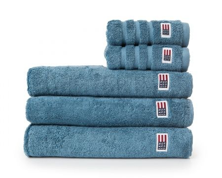 Original Towel Aegean Blue. Fall News for your bathroom. Lexington soft and heavy terry towel in 600 g combed cotton.