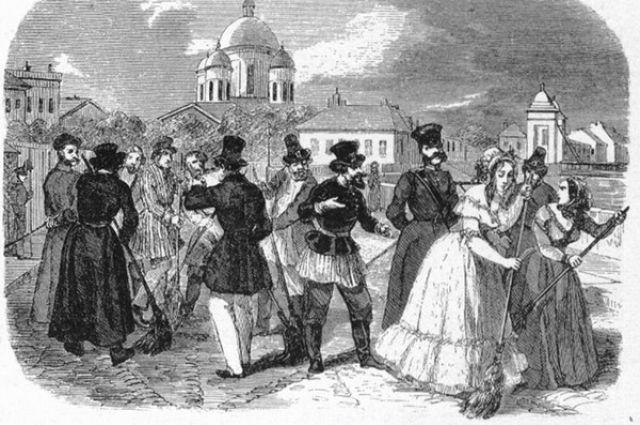 С 4 по 8 мая 1910 года в Петербурге проходил Всероссийский съезд по борьбе с торгом женщинами, на котором представители общественных организаций и партий пытались выработать механизмы борьбы с тайной проституцией.