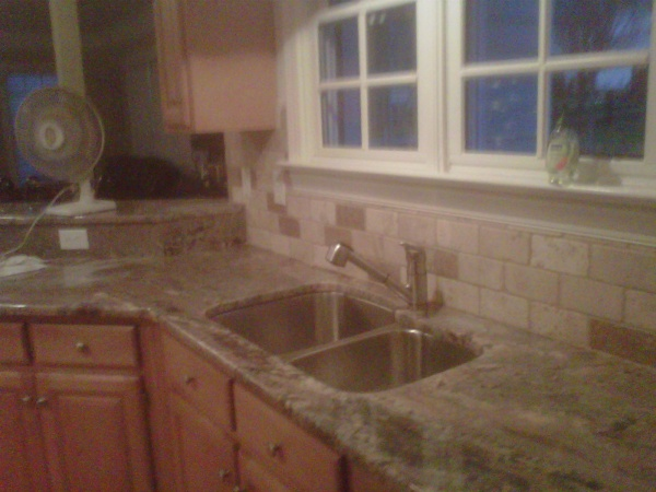 Crema Bordeaux Granite Countertops Installed In Charlotte NC, Columbia SC  And Surrounding Areas.