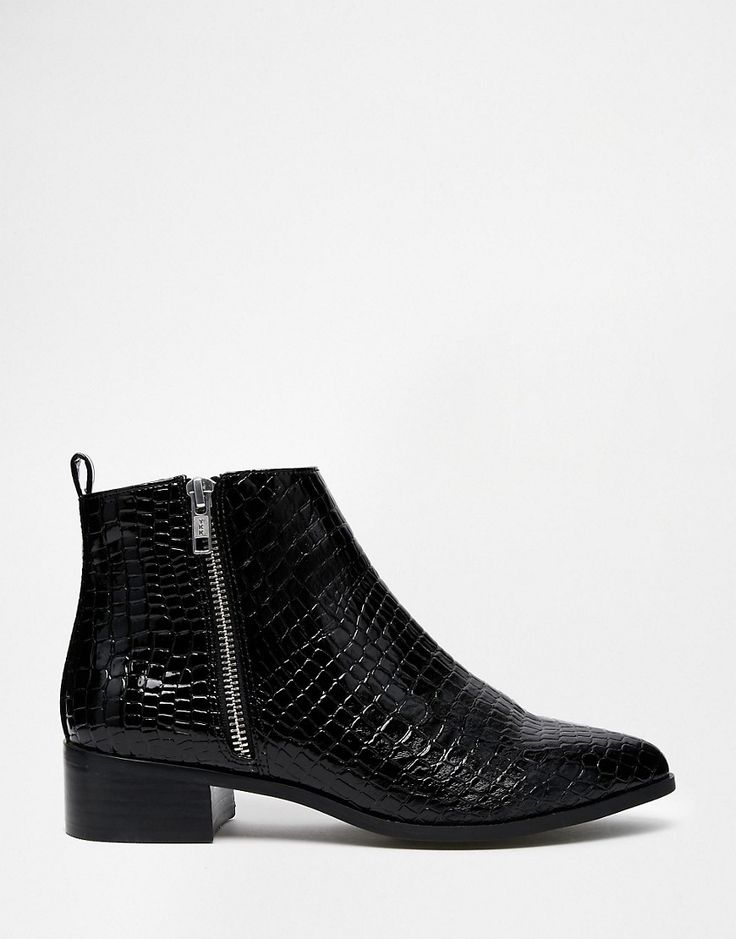 Image 2 ofASOS ASTRONOMICAL Pointed Ankle Boots
