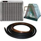 2.5 Ton 14 Seer Mobile Home Split System Central Air Conditioning System with 30 ft. Line Set, Gray