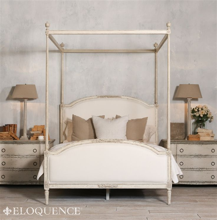 Bed Canopy No Nails : Best images about furniture shabby chic princess on