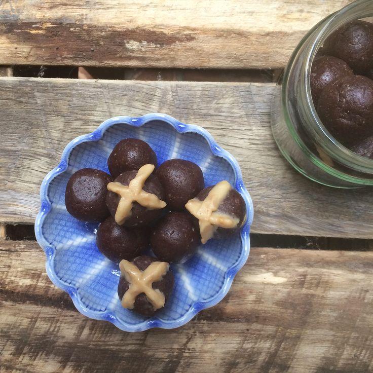 Hot Cross Chocolate Bliss Balls