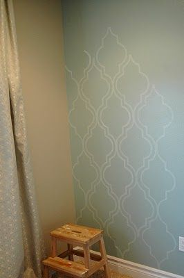 This Accent Wall Is Gorgeous And So Easy Lots Of Home
