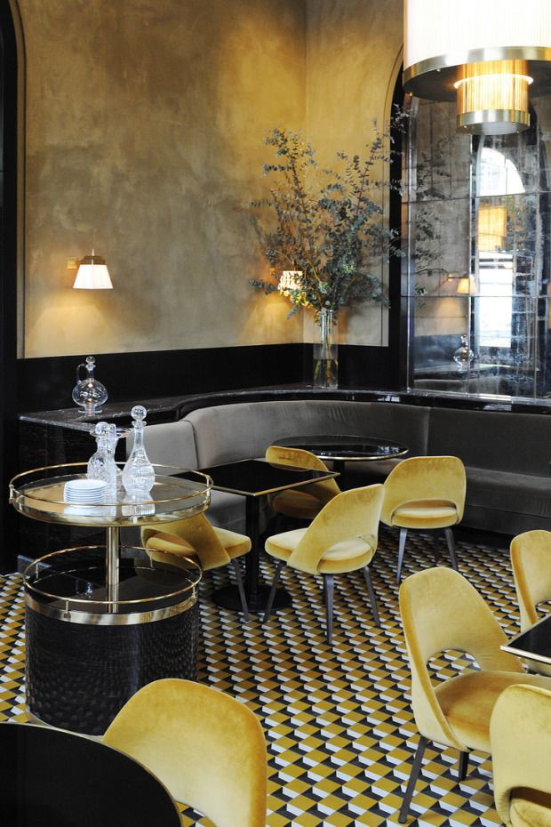 Le Flandrin Restaurant redesigned by Joseph Dirand... sometimes spaces designed for the public can be the best source of inspiration!