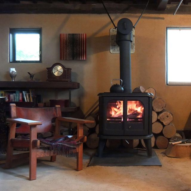 cousteauさんの、古民家,時計,アンティーク,薪ストーブ,椅子,収納,雑貨,キャンドル,北欧,Lounge,のお部屋写真