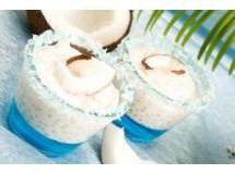 Sagu com Leite de Coco - Veja mais em: http://www.cybercook.com.br/receita-de-sagu-com-leite-de-coco.html?codigo=14574