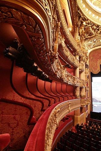 Old velvety london theatres