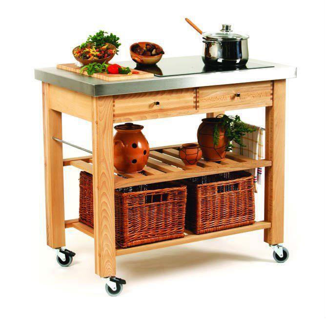 Carrello portavivande - acciaio e legno  Nido 3.0 - Cucina  Pinterest  Pallets