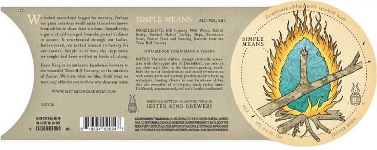 jester king simple means TABC Label and Brewery Approvals February 12 2016 #craftbeer