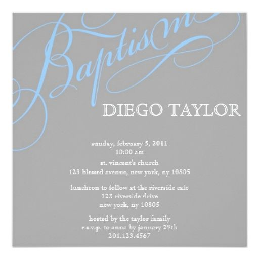 1813 best Baptism \ Christening Invitations images on Pinterest - best of invitation wording lunch to follow