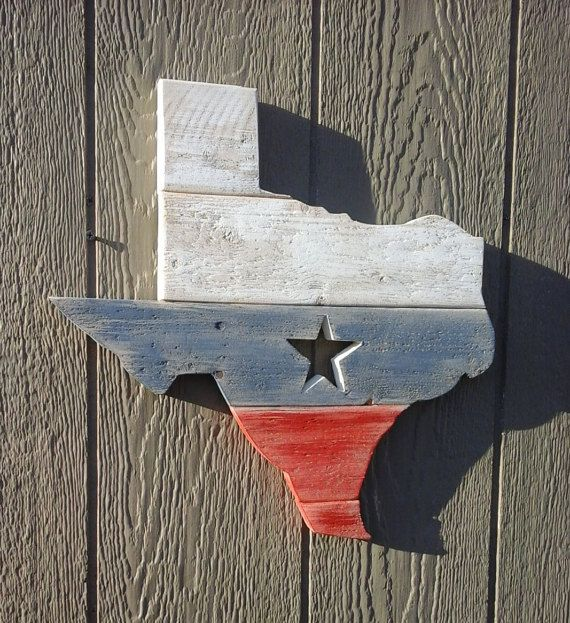 Decorative The Lone Star State Wall Plaque
