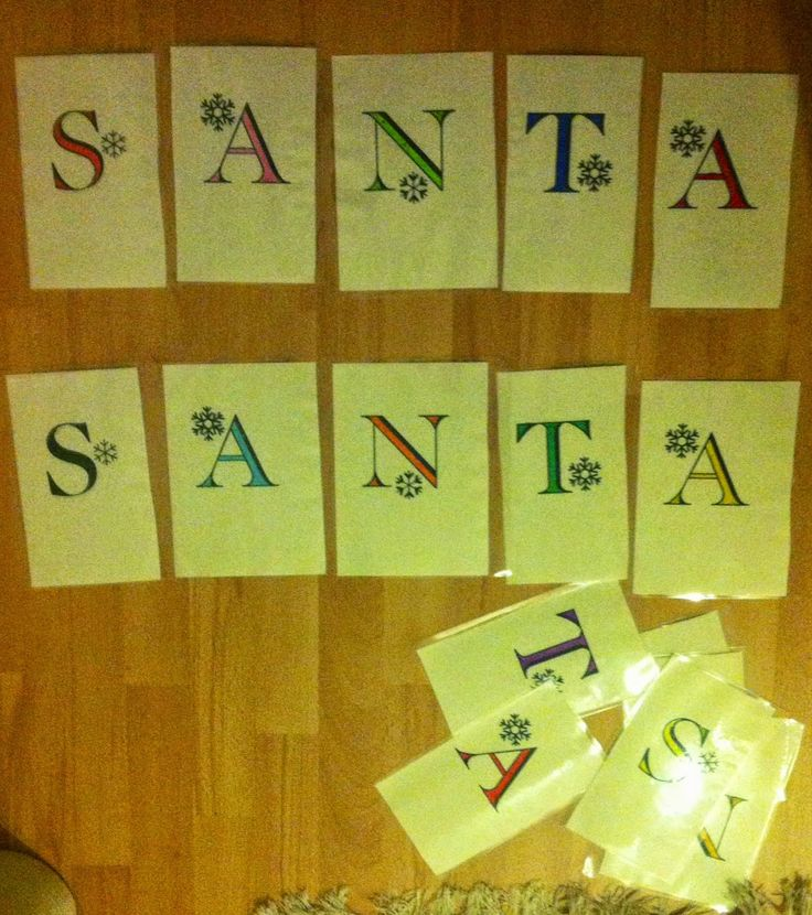 keep calm and carry on teaching: Santa - pomysł na lekcję mikołajkową