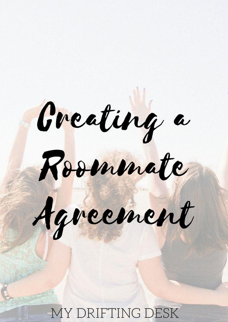 Roommate Agreements
