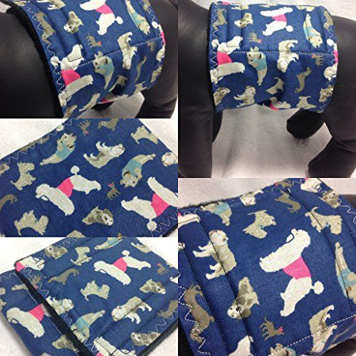 Breeds in Blue Male Dog Belly Band Wrap Waist Size 514 -- Want to know more, click on the image.(This is an Amazon affiliate link)