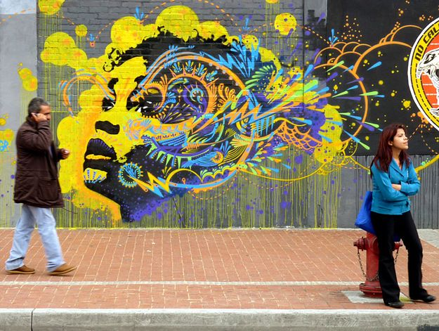 50 Jaw-Dropping Examples Of Street Art From Around The World; Artist: Unknown Location: Bogotá, Colombia