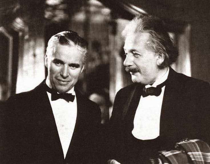 Ο Τσάρλι Τσάπλιν και ο Άλμπερτ Αϊνστάιν