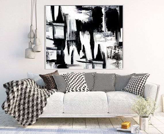 Abstract Art Print, Abstract Art, Black and White Abstract, Minimalist Poster, Home Decor, Wall Decor, Instant Download