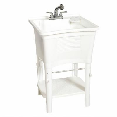 bigtub mustee en faucet supply trap home p line tub depot with single laundry