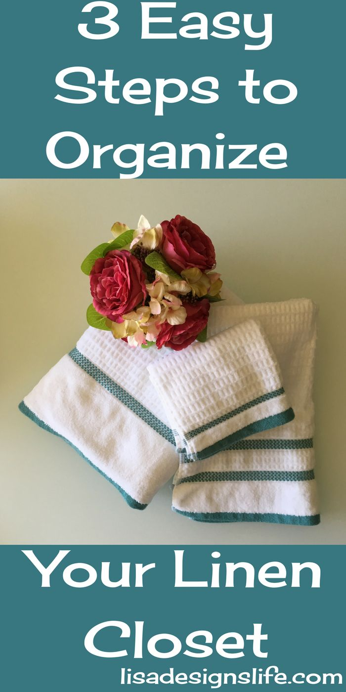 3 Easy Steps to Organize Your Linen Closet and tak…