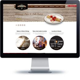 The Niseko Supply Company website built with PHP/HTML, JQuery.