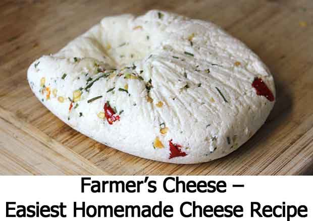 Farmer's Cheese – Easiest Homemade Cheese Recipe