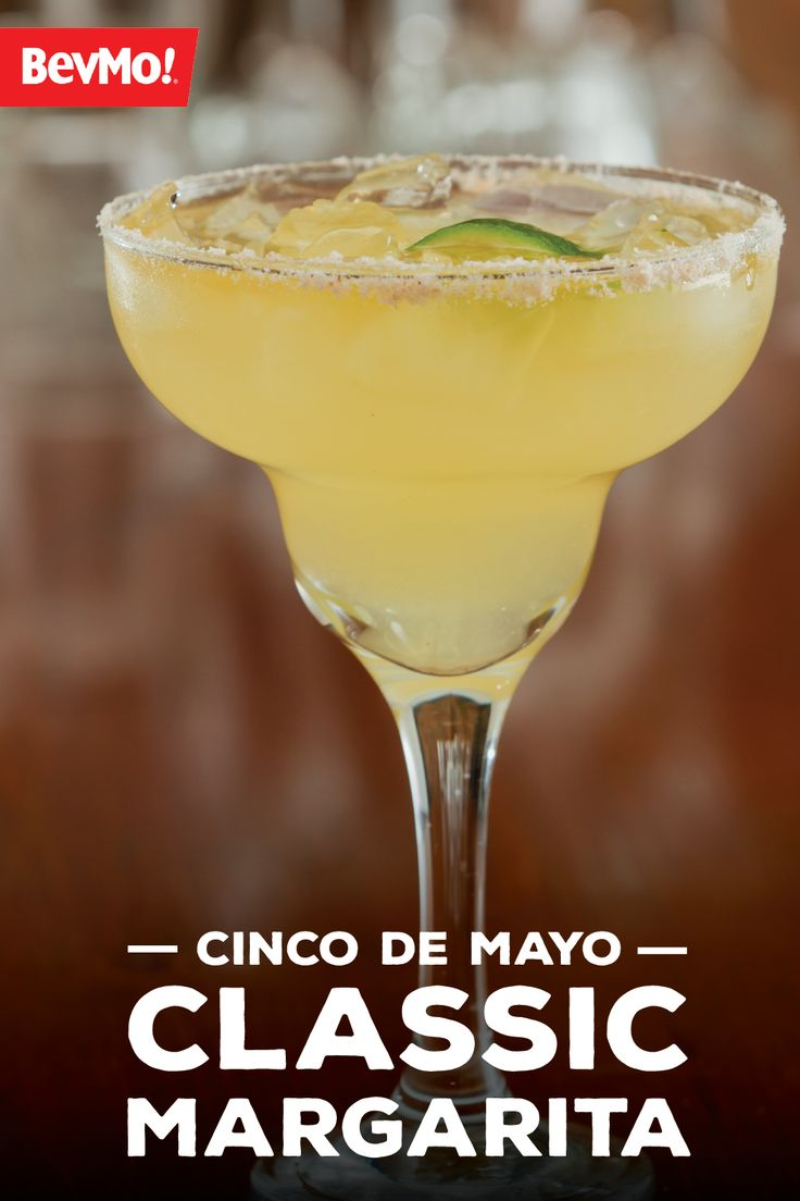Grab some ice and let's create this delicious Classic Margarita recipe with help from BevMo!  Thanks to the traditional flavors like lime, tequila, and salt, this cocktail has all the burst of citrus you're looking for. Garnish with a lime wedge to make it the picture-perfect spring, Cinco de Mayo dr