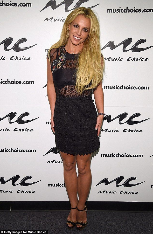Lengthen your legs in Britney's Louboutins #DailyMail  Click 'Visit' to buy now