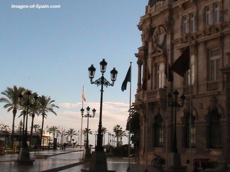 Cartagena Ayuntamiento de Cartagena in the Murcia region of Spain