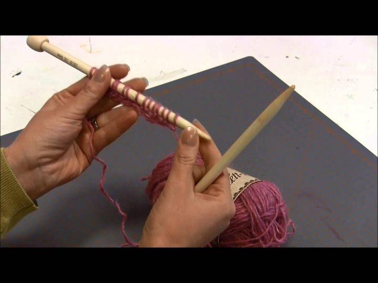 Video neulomisen perusasioista: silmukoiden luominen, oikea ja nurja silmukka